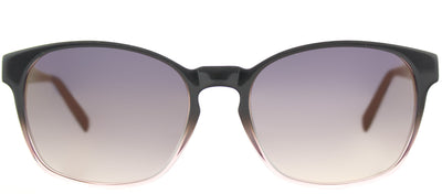Lafont LF Volubilis 2028 Square Plastic Grey Sunglasses with Grey Gradient Lens