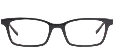 Modo MODO 6607 DONYX Rectangular Plastic Black Eyeglasses with Demo Lens