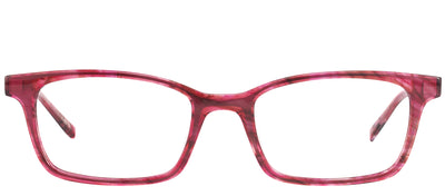 Modo MODO 6607 PNKWA Rectangular Plastic Pink Eyeglasses with Demo Lens