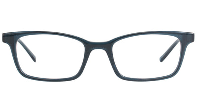 Modo MODO 6607 SEACR Rectangular Plastic Blue Eyeglasses with Demo Lens
