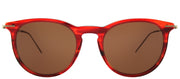 Tomas Maier TM 0006S 007 Round Plastic Tortoise/ Havana Sunglasses with Brown Lens