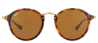 Ray-Ban RB 2447 1160 Round Plastic Tortoise/ Havana Sunglasses with Brown Lens