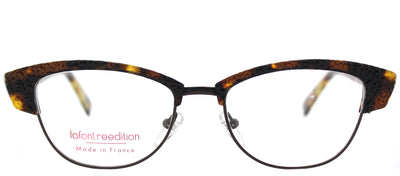 Lafont LF Violette 532 Cat-Eye Plastic Tortoise/ Havana Eyeglasses with Demo Lens