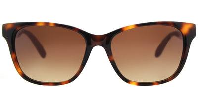 Lilly Pulitzer LP Pixie TO Rectangle Plastic Tortoise/ Havana Sunglasses with Brown Gradient Lens