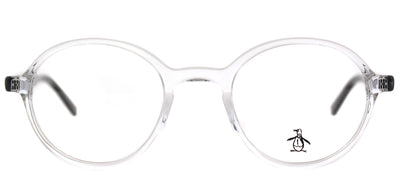 Original Penguin PE Mungarutal CR Round Plastic Clear Eyeglasses with Demo Lens