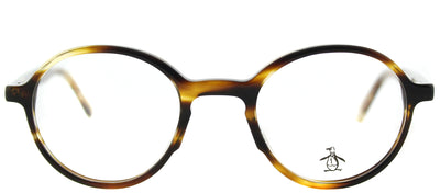 Original Penguin PE Mungarutal TO Round Plastic Tortoise/ Havana Eyeglasses with Demo Lens