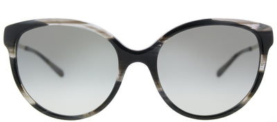 Michael Kors MK 2052F 328911 Cat Eye Plastic Black Sunglasses with Grey Gradient Lens