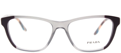 Prada PR 04TV VYN1O1 Square Plastic Grey Eyeglasses with Demo Lens