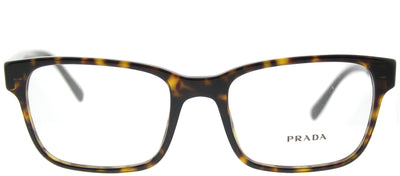 Prada PR 06UV 2AU1O1 Rectangle Plastic Tortoise/ Havana Eyeglasses with Demo Lens