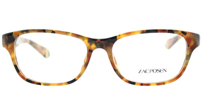 Zac Posen ZP Annabella AM Rectangle Plastic Tortoise/ Havana Eyeglasses with Demo Lens