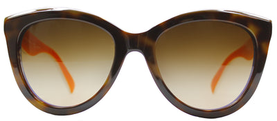 Dolce & Gabbana DG 4207 276513 Square Plastic Brown Sunglasses with Brown Gradient Lens