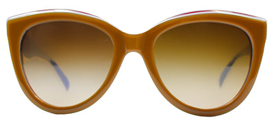 Dolce & Gabbana DG 4207 276713 Square Plastic Brown Sunglasses with Brown Gradient Lens