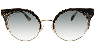 Jimmy Choo JC ORA PSW Fashion Metal Gold Sunglasses with Grey Lens