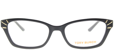 Tory Burch TY 4002 1377 Rectangle Plastic Black Eyeglasses with Demo Lens