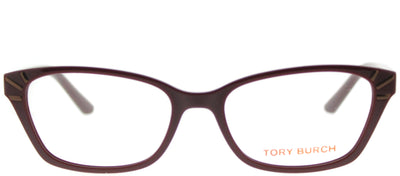 Tory Burch TY 4002 1681 Rectangle Plastic Burgundy/ Red Eyeglasses with Demo Lens