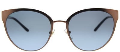 Tory Burch TY 6058 32378F Cat-Eye Metal Bronze Sunglasses with Blue Gradient Lens