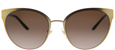 Tory Burch TY 6058 324013 Cat-Eye Metal Gold Sunglasses with Brown Gradient Lens