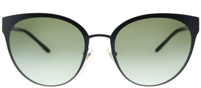 Tory Burch TY 6058 32448E Cat-Eye Metal Blue Sunglasses with Green Gradient Lens