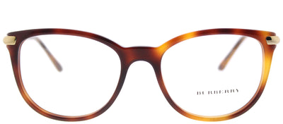 Burberry BE 2255Q 3316 Square Plastic Tortoise/ Havana Eyeglasses with Demo Lens