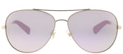 Kate Spade KS Avaline2 HT8 Aviator Metal Pink Sunglasses with Rose Gold Mirror Lens