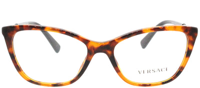 Versace VE 3248 5074 Cat-Eye Plastic Tortoise/ Havana Eyeglasses with Demo Lens