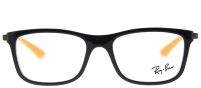 Ray-Ban Junior RY 1549 3733 Square Plastic Black Eyeglasses with Demo Lens
