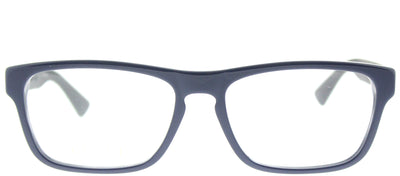 Gucci GG 0174O 008 Rectangle Plastic Blue Eyeglasses with Demo Lens