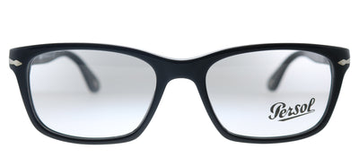 Persol PO 3012V 95 Rectangle Plastic Black Eyeglasses with Demo Lens