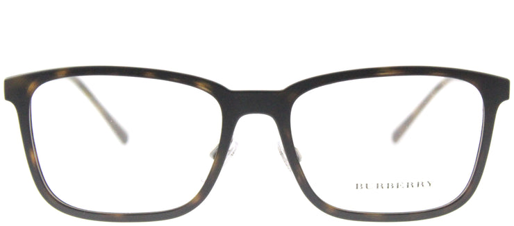 Burberry BE 1315 1008 Rectangle Plastic Tortoise/ Havana Eyeglasses with Demo Lens