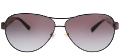 Ralph by Ralph Lauren RA 4096 249/62 Aviator Metal Purple Sunglasses with Purple Gradient Lens