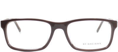 Burberry BE 2162 3404 Rectangle Plastic Brown Eyeglasses with Demo Lens