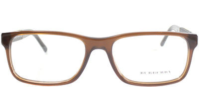 Burberry BE 2162 3469 Rectangle Plastic Brown Eyeglasses with Demo Lens