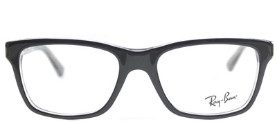 Ray-Ban Junior RY 1536 3529 Square Plastic Black Eyeglasses with Demo Lens