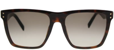 Marc Jacobs Marc 119 ZY1 Rectangle Plastic Tortoise/ Havana Sunglasses with Brown Gradient Lens