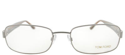 Tom Ford FT 5092 753 Rectangle Metal Ruthenium/ Gunmetal Eyeglasses with Demo Lens