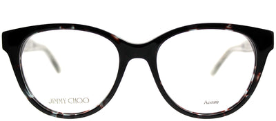 Jimmy Choo JC 194 676 Cat-Eye Plastic Grey Eyeglasses with Demo Lens