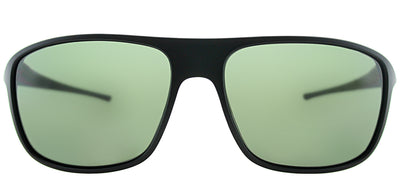 TAG Heuer TAG 6041 301 Sport Plastic Black Sunglasses with Green Polarized Lens