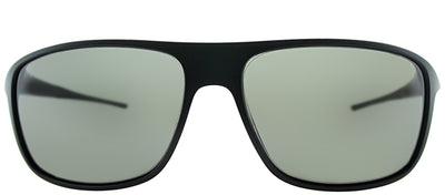 TAG Heuer TAG 6041 909 Sport Plastic Black Sunglasses with Grey Polarized Lens