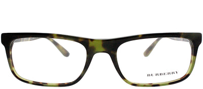 Burberry BE 2240 3280 Rectangle Plastic Green Eyeglasses with Demo Lens
