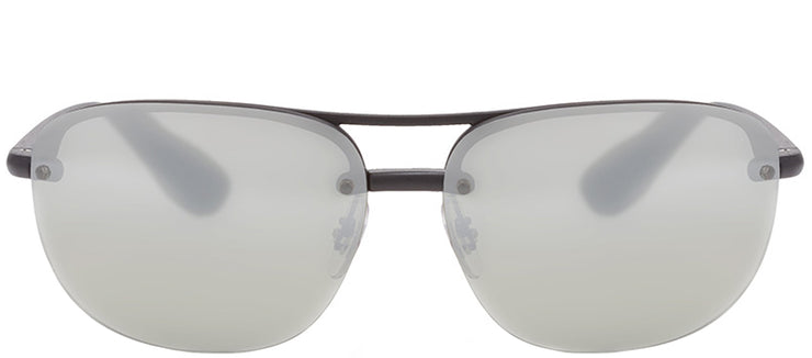 Ray-Ban RB 4275CH 601S5J Sport Plastic Black Sunglasses with Grey Gradient, Polarized Lens