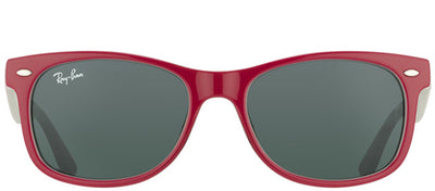 Ray-Ban Junior RJ 9052SF 177/87 Wayfarer Plastic Burgundy/ Red Sunglasses with Grey Lens