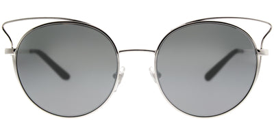 Vogue VO 4048S 323/6G Cat-Eye Metal Silver Sunglasses with Silver Mirror Lens