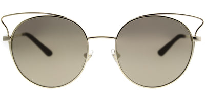 Vogue VO 4048S 848/5A Cat-Eye Metal Gold Sunglasses with Gold Mirror Lens