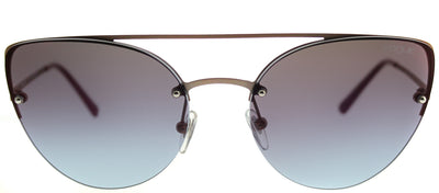 Vogue VO 4074S 5075H7 Cat-Eye Metal Gold Sunglasses with Pink Gradient Mirror Lens
