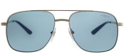 Vogue VO 4083S 848/80 Aviator Metal Gold Sunglasses with Blue Lens
