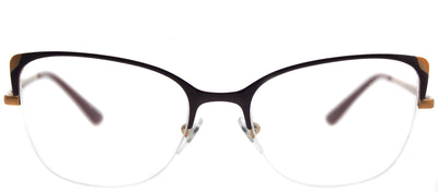Vogue VO 4077 5072 Cat-Eye Metal Burgundy/ Red Eyeglasses with Demo Lens