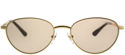 Vogue VO 4082S 280/73 Oval Metal Gold Sunglasses with Gold Lens