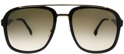 Carrera CA Carrera133 2M2 Square Plastic Black Sunglasses with Brown Gradient Lens