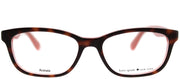 Kate Spade KS Brylie QTQ Rectangle Plastic Tortoise/ Havana Eyeglasses with Demo Lens