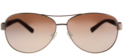 Kate Spade KS Dalia2 AU2 Aviator Metal Gold Sunglasses with Rose Mirror Lens